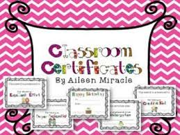 images about Rewards on Pinterest Pinterest Classroom Certificates  Editable   includes end of the year awards  as well