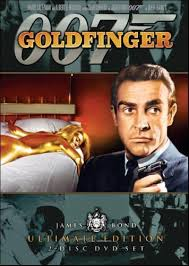 James Bond 03 - Goldfinger poster
