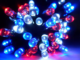 Blue Led String Lights by Fourth Of July String Lights Fourth Of July Wikii