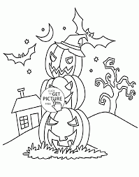 halloween pumpkins coloring pages for kids halloween printables