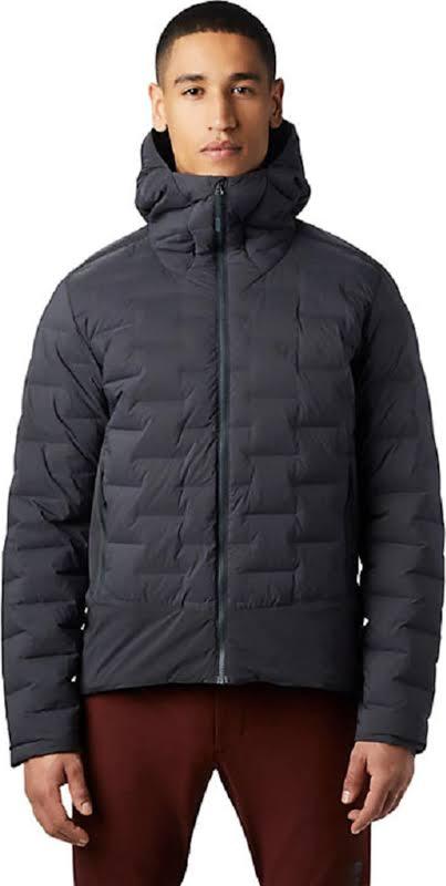 Mountain Hardwear Super/DS Stretchdown Climb Jacket Dark Storm Small 1868911004-S