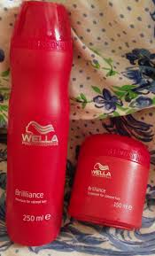 wella brilliance shampoo for colored hair and treatment for