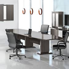 8 Foot Desk by 8 Foot 16 Foot Modern Designer Conference Room Table