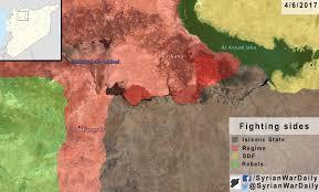 Syria Map War by Syrian War Daily U2013 4th Of June 2017 Syrian War Daily