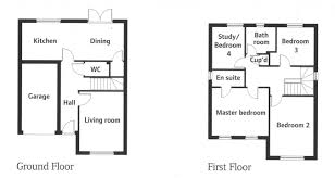 Downing Street Floor Plan 4 Bedroom Detached House For Sale In The Downing Orchard Grange