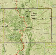 Southern Colorado Map by Heroes Heroines And History Beyond The Great Divide