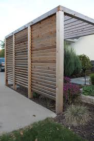 Pergolas Home Depot by Louvered Garden Privacy Wall Https Www Homedepot Ca En Home P
