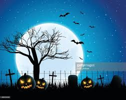 halloween background vector art getty images