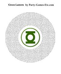 green lantern party games free printable games and activities for