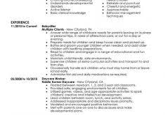 Sample Babysitter Resume by How To Construct A Resume Haadyaooverbayresort Com