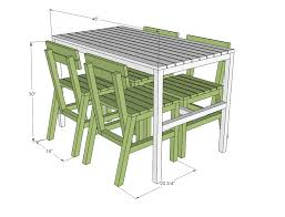 Free Wooden Garden Chair Plans by Ana White Harriet Outdoor Dining Chair For Small Modern Spaces