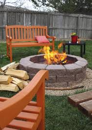 How To Make A Fire Pit In Backyard by Using Fire Pits In Gardens U2013 Tips On Building A Backyard Fire Pit