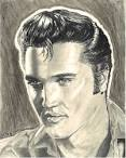 Elvis '56 Drawing by Gail