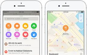 Mapping A Route by How To Search Along Your Route In Apple Maps