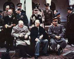 the 'big three' at Yalta, February 1945,