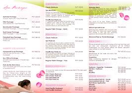 nail salon menu the nail collections