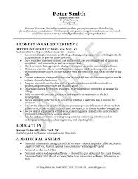 Example Of Good Resume For Customer Service  Customer Service     Home Design Resume CV Cover Leter
