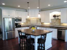 interesting kitchen design l shape with an island models and idea