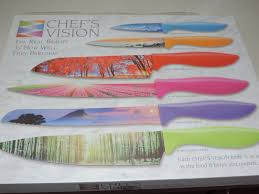 How To Use Kitchen Knives Mail4rosey Chef U0027s Vision Knife Set These Are Fantastic