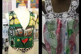 GCSE Textile Design coursework piece  Poverty One World theme