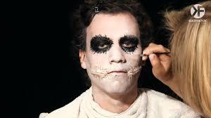 Halloween Male Makeup Schminken Zu Halloween Joker Face Make Up Leicht Gemacht By