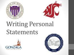 Tips for Your Personal Statement