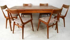 MidCentury Danish Modern Teak Dining Room Table With Chairs For - Century dining room tables