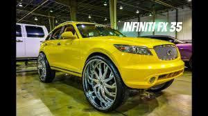 lexus rx 350 vs infiniti jx35 infiniti fx 35 on 32 inch savini wheels in hd must see youtube