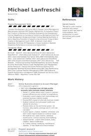 Senior Hr Manager Resume Sample by Senior Business Analyst Resume Samples Visualcv Resume Samples
