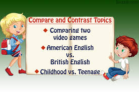 Showme Compare Contrast Essay  th Grade How To Write A Narrative     Quotes On Comparing And Contrasting