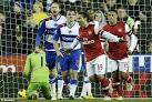 Pertandingan Reading vs Arsenal