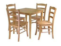 amazon com winsome groveland square dining table with 4 chairs