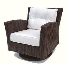 Club Swivel Chair Outdoor Wicker Swivel Rocker Chair Sonoma