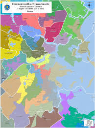 Map Of Boston Neighborhoods by The Amateur Planner