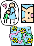 clip art Mother'sDay 1 | Little English with Kru_Ni [