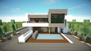minecraft how to build a modern house 1 8 7 best modern house minecraft how to build a modern house 1 8 7 best modern house 2015 tutorial youtube