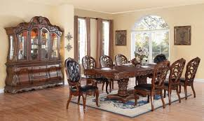 cleopatra dining table w optional chairs u0026 buffet with hutch