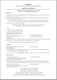 Best Job Resume Ever by Esthetician Resume Sample Http Www Resumecareer Info