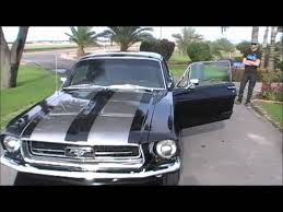1967 Ford Mustang Black 1967 Ford Mustang Coupe Youtube