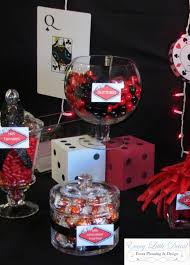every little detail event planning and design brian u0027s 40th casino