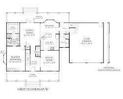 Two Story Floor Plan Houseplans Biz House Plan 2341 B The Montgomery B