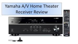 home theater receiver hdmi yamaha 5 1 channel a v home theater receiver review youtube