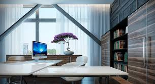 superb imac white home office desk couch minimalist interior