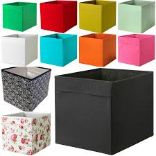 new ikea drona fabric storage box basket for expedit kallax shelf