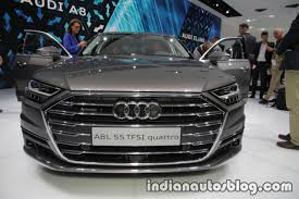 2018 audi a8 front at the iaa 2017 indian autos blog