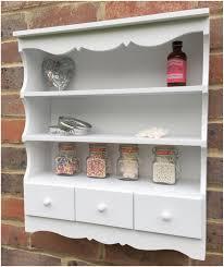 white shabby chic wall shelf unit adjustable shelf shabby chic