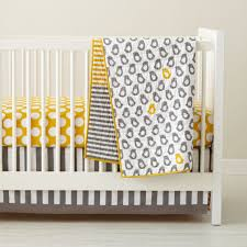 baby crib bedding baby grey u0026 yellow patterned crib bedding the