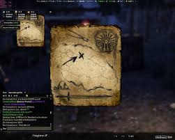 Coldharbour Ce Treasure Map Lost Treasure Map Coords Compasses Elder Scrolls Online Addons