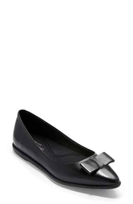 Cole Haan 3.Zerogrand Bow Flats Black 11