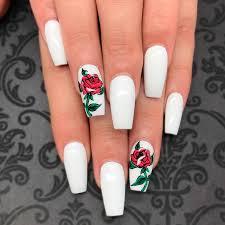 awesome white acrylic nails naildesignsjournal com